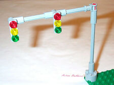 Lego Traffic Light Signals 2-Lane Overhead 8401 Road City Street Sign Post