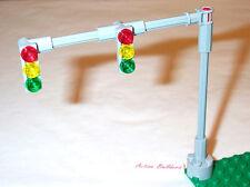 Lego Traffic Light Signals 2-Lane Overhead 8401 Road City Street Sign Post
