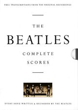 The Beatles Complete Scores Sheet Music Transcribed Score NEW 000673228