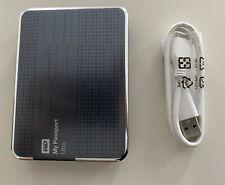 WD My Passport Ultra 2TB External Hard Drive USB 3.0 Titanium WDBMWV0020BTT