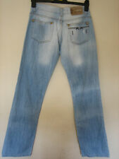XX11)  BLUE VINTAGE VERSACE COUTURE JEANS WAIST 29 INCHES LEG 32 INCHES