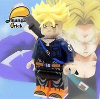 **Pre-order**MANGA BRICK Custom Dragon Ball Z Trunks Lego Minifigure