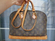 Louis Vuitton Monogram Alma Hand Bag M51130 LV With strap!! Authentic #3167P