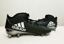 Adidas Adizero 5-Star 5.0 Mid Football Cleats Black White Sz 12.5 (B72644)