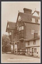 Postcard Cranbrook School near Sissinghurst Kent view of Crowden House RP
