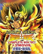 DVD Saint Seiya TV Series + Hades + Lost Canvas + Soul of Gold + 5 Movies