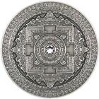2015 3 Oz Silver Fiji 10$ KALACHAKRA Mandala Art I Coin.