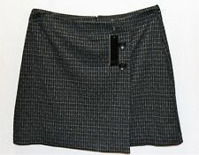 BASQUE Brand Black White A Line Day Skirt Size 10 BNWT #TK21
