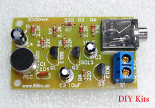 Multi-Stage Electret Microphone Audio Amplifier E-Learning Teaching DIY Kit