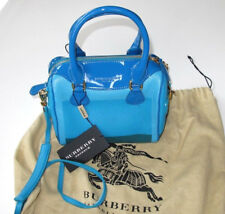 Burberry Blue Hand Painted Mini Bee Bag BNEW with tags! Mravelous Christms gift!