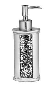 Popular Bath Sinatra Silver Collection - Bathroom Lotion Soap Pump