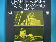 "LP CHARLIE PARKER FATS NAVARRO "" BIRD & FATS "" LIVE 1950 NUOVO LOOK"