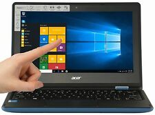 "New Acer 11.6"" 2-in-1 Touchscreen 2GB 32GB eMMC Win 10 HDMI Sky Blue R3-131T"