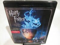Harry Potter and the Goblet of Fire 4K UHD Ultra HD Blu-ray Fast Free Shipping!