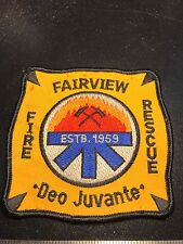Fairview Fire Rescue Patch