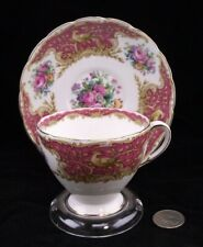 FOLEY CHINA MONTROSE  CABINET TEA CUP AND SAUCER