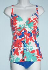 Swim Solutions Swimsuit Size 20 Underwire Support Tankini Tummy Control Set NWT