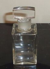 "VINTAGE CARVEN PARIS EMPTY PERFUME BOTTLE 3 3/4"" TALL"