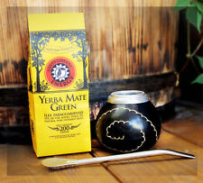 Yerba mate Mate Green ENERGY 200g  Paket SET  ideal für Anfänger !