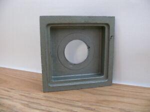 "Calumet 4x4"" recessed lens board with Copal 0 lens hole.       (B45)"