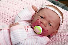 MY DREAM BABY GIRL !!BERENGUER PREEMIE LIFELIKE REBORN DOLL W PACIFIER,BOTTLE