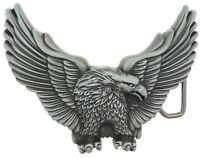Western American Eagle Metal Belt Buckle