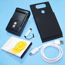 URS2GO 10900mAh Extended Life Battery Charger Cover Cable for LG V20 VS995 Phone
