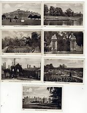 HAMPTON COURT PALACE Postcard Set UNITED KINGDOM London ENGLAND UK Royal ROYALTY