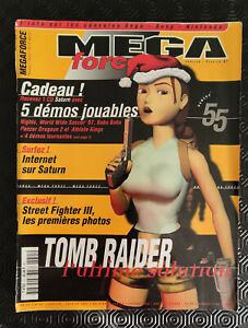 Magazine MEGA Force N°55 01-02/97 Sega Sony Nintendo Jeux vidéo RETRO