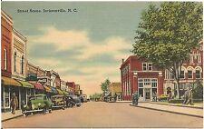 Street Scene in Jacksonville NC Postcard