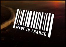 Hecho En Francia Jdm calcomanía pegatina de vinilo, Citroen, Renault, Peugeot Clio 205 106