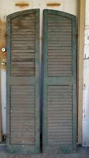 Rare Vintage Valor Wood Window Shutters