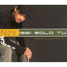 CDs NEK SEI SOLO TU (FEATURING LAURA PAUSINI) 809274612823
