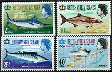 Fishing British Virgin Islander Stamps