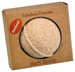 Patchouli Essential Oil Bath Bomb 2.75oz by Fabulous Frannie