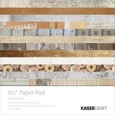 DOCUMENTED Collection 6.5 inch Paper Pad Scrapbooking Kit Kaisercraft PP1036
