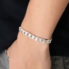 Unisex Men Women Punk Gold/Silver Chain Bracelet Wristband Bangle Jewelry Gift