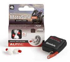 Motocicleta Tapones Para Los Oídos REUTILIZABLE protección auditiva Alpine MotoSafe carrera