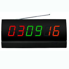 SINGCALL Wireless Server's Paging System in LCD Display Screen Display 3 Colors