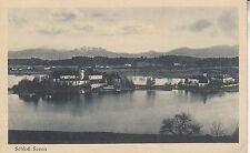 Postkarte - Schloß Seeon im Chiemsee