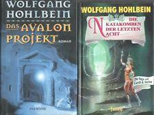 BÜCHERSAMMLUNG! 41 ROMANE in 36 Büchern v. WOLFGANG HOHLBEIN (ENWOR, WYRM u. a.)