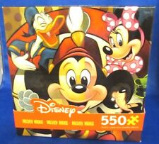 DISNEY MICKEY MANIA 550 PIECE PUZZLE MICKEY MOUSE CLUB, NEW IN BOX