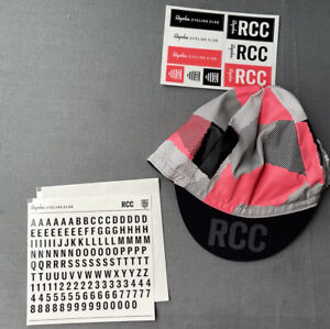 Rapha RCC Club Annual Cycling Cap Hat One Size NEW + Frame Stickers