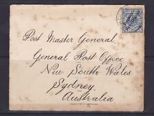 """GNG27) German New Guinea 1900 small cover to """"Post Master General"""