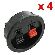 4pcs Round Speaker Box Terminal Cups