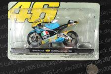 Aprilia Rs 125 #46 Rossi World Championship 1996 Motorcycle Racing Model 1/18