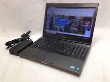 Dell Precision M4600 i7-2720QM NVIDIA Quadro  8GB RAM 256GB SSD Win 10 i-4-9