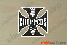PEGATINA STICKER VINILO West Coast Choppers ref2 autocollant aufkleber adesivi