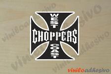 PEGATINA STICKER VINILO West Coast Choppers ref2 autocollant aufkleber adesivi