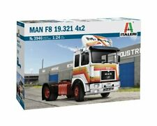 Italeri 3946 1/24 Scale Truck Model Kit MAN F8 19.321 4x2